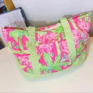 """Lilly Pulitzer """"Taboo"""" Tote"""